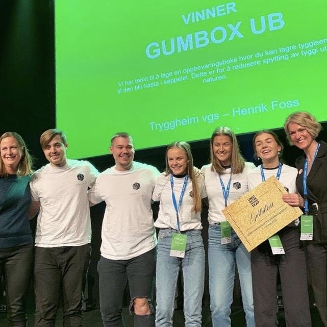 Beste Ungdomsbedrift Rogaland 2020  Gumbox Ub